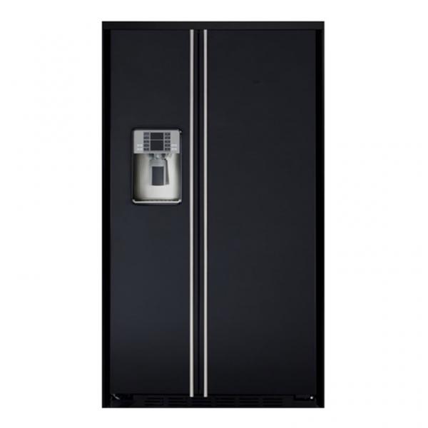 Amerikaanse koelkast met ijsblokjesmachine